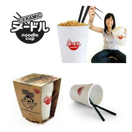 SuckUK Ceramic Noodle Cup