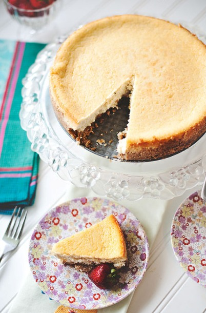 Four-Cheese Vanilla Bean Cheesecake