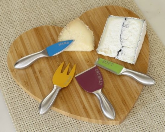 Cut the Cheese knives