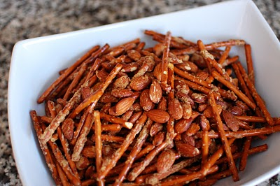Spicy-Sweet Pretzel Mix