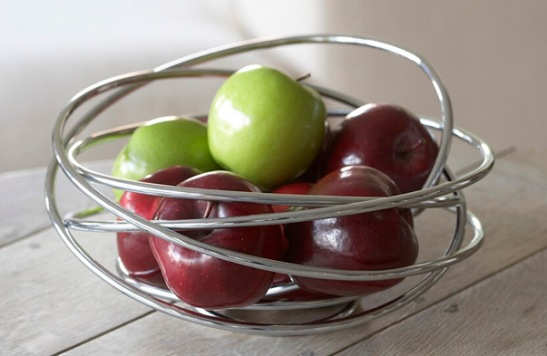 Wire Loop Fruit Bowl