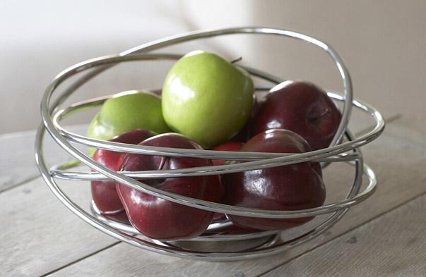 Wire Loop Fruit Bowl