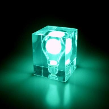 Green Glow Brick