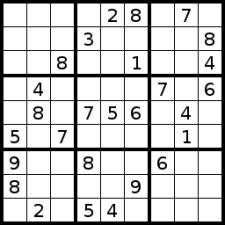 Sudoku, a.k.a. Shutting the World Out