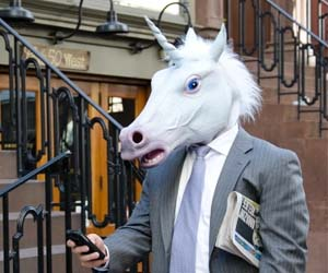 Even Magical Unicorns have to go to work.