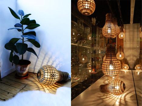 Wooden Bulb