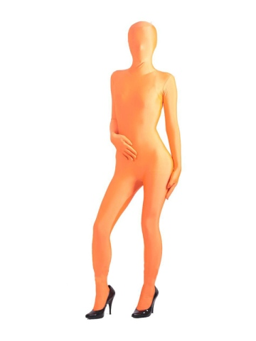 A typical zentai outfit