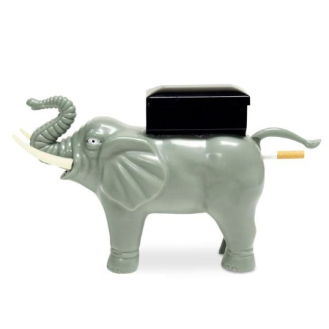 Elephant Cigarette Dispenser
