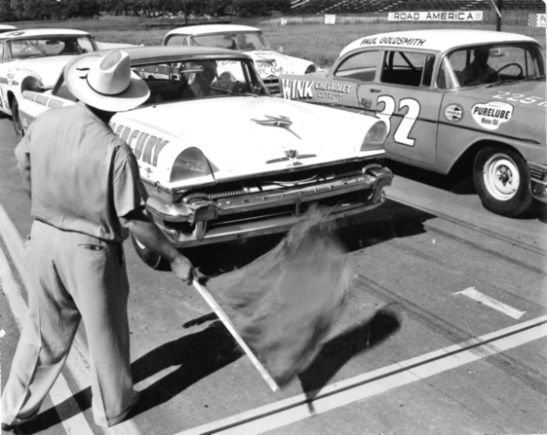 1956 marked the first NASCAR race. And so it began.