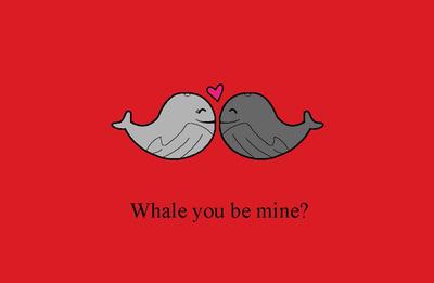 whale you be mine