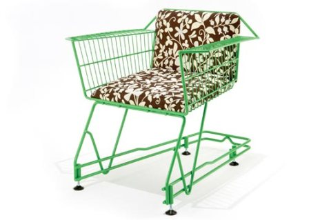 annie shopping cart chair