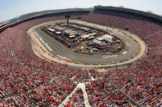Bristol Motor Speedway in TN in 2007