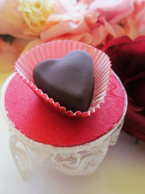 Chocolate Nutella Valentine Hearts