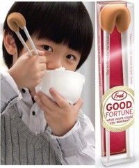 fred friends good fortune chopsticks chopstick helpers