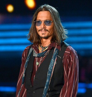Johnny Depp (blue lenses, man scarf, and bracelets necessary)...