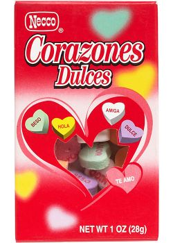 Spanish Conversation Hearts
