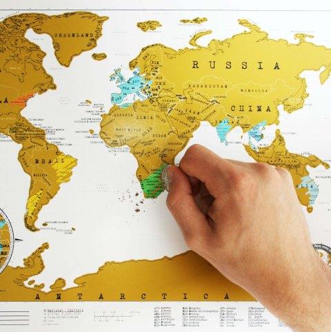 luckies world scratch map