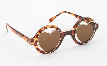 Urban outfitters Two Hearts Sunglasses