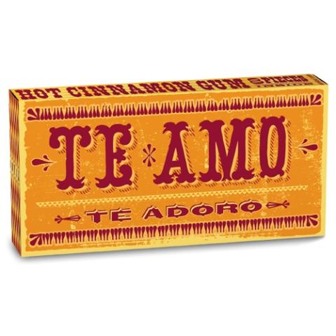 Te Amo Hot Cinnamon Gum