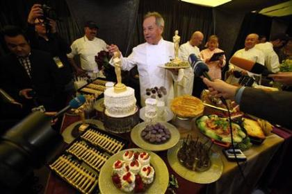Take a peek at some of the foods being prepared for stars at this year's awards dinner!