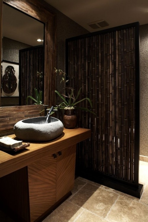 Calm commode bringing zen to your bathroom home clever - Decoratie zen badkamer ...