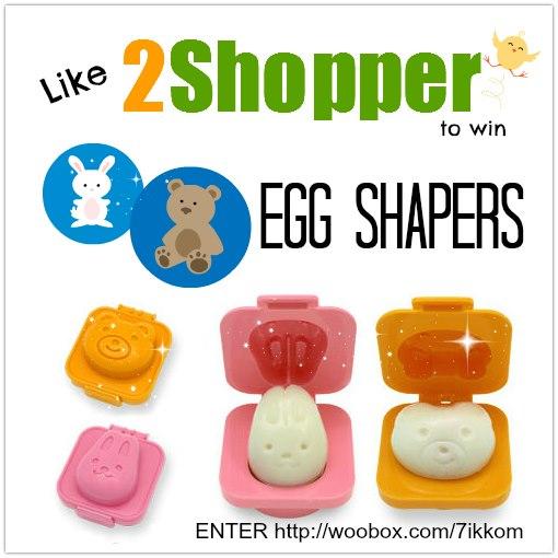 2shopper  facebook easter giveaway egg shapers