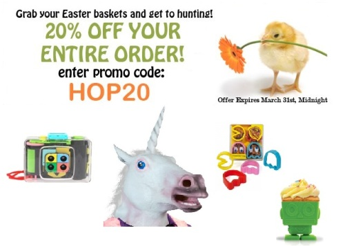 2shopper easter sale 20% off