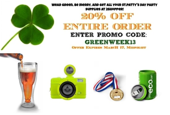 st. patricks day sale 2shopper