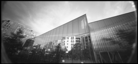 Wide Pinhole Picture