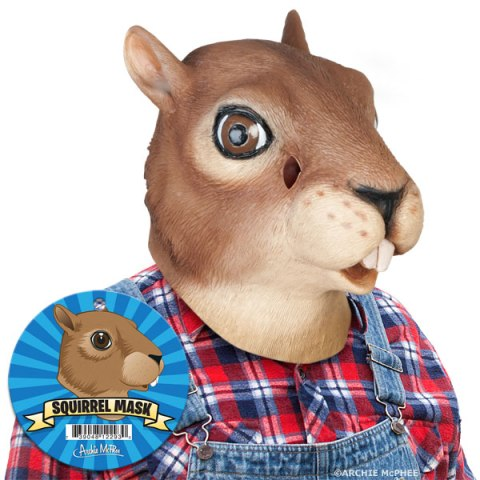 creepy Squirrel Mask