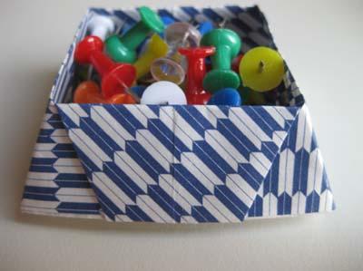31-origami-desk-organizer