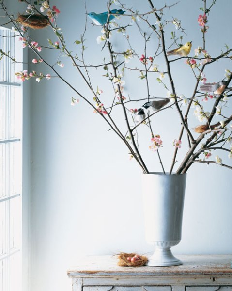 Crepe Paper Birds