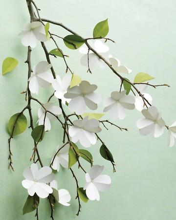 dogwood paper flowers