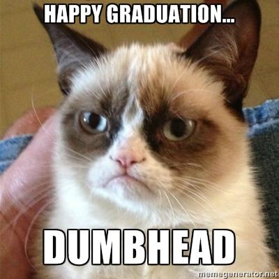Angry Graduation