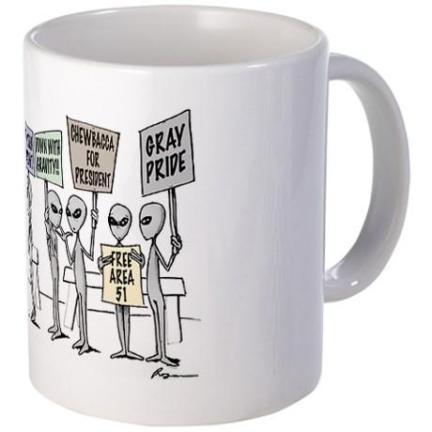 Alien Mug Back
