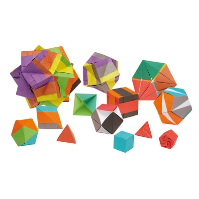 Geometric origami set