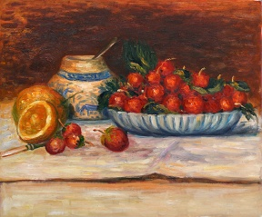 Strawberries Renoir