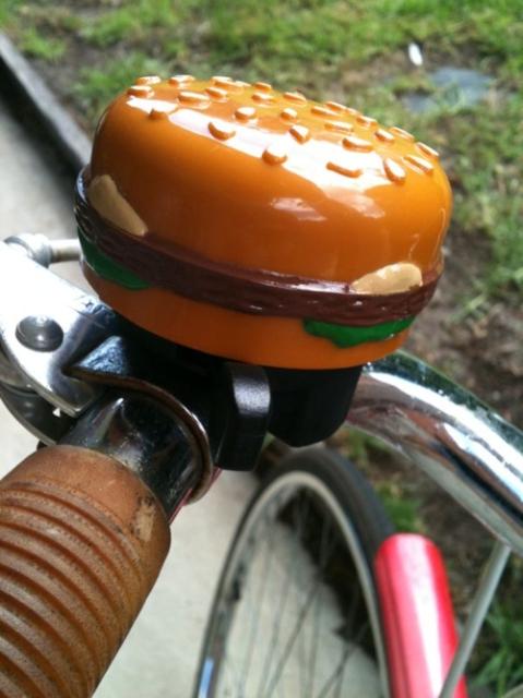 Burger Bike Bell