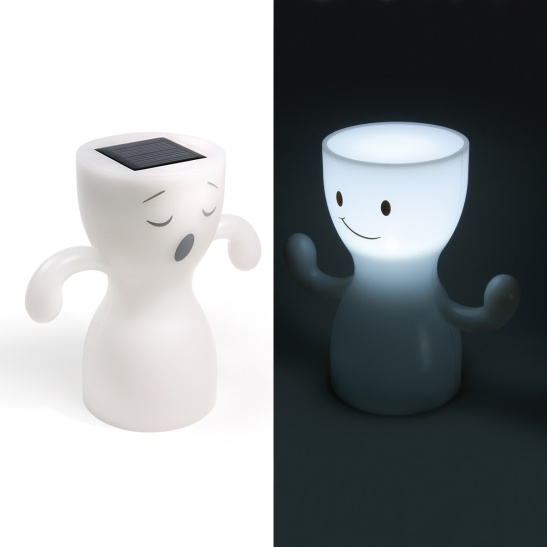 Fred and Friends Globoy Solar Night Light