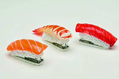 DCI Sushi Mini Stapler, Assorted Styles