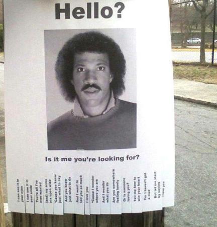 Lionel Richie Invites