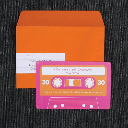 Mix Tape Invite
