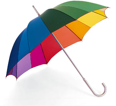 Color Spectrum Umbrella