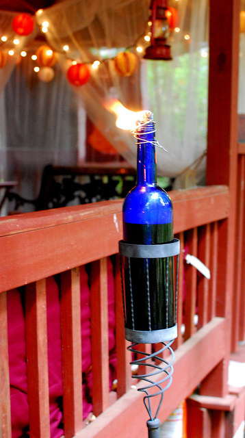 DIY Tiki Torches Tiki Party Decorations