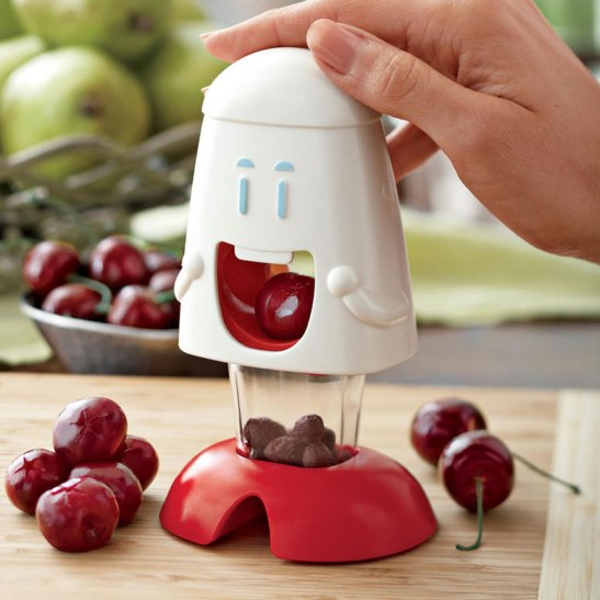 Cherry Chomper Pit and Stem Remover