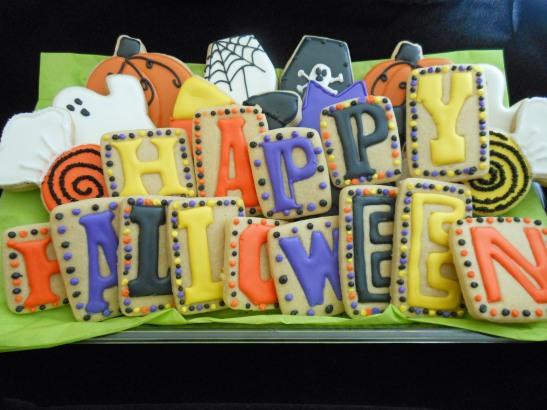 Letter pressed cookie stamper