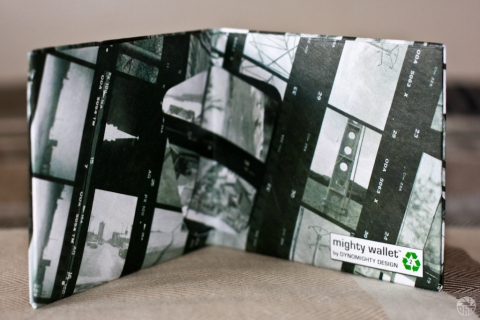 35mm Film Negative Black & white Dynomighy Mighty Wallet