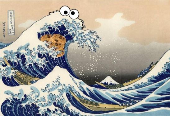 cookie monster tidal wave
