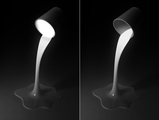 Pouring Light Lamp