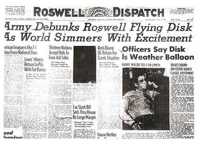 roswell-newspaper_army-debunks-flying-disk